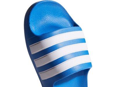 adidas Kinder Aqua Adilette Blau