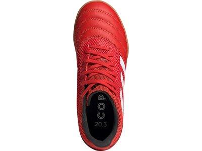 ADIDAS Kinder Fußballschuhe COPA 20.3 IN SALA Rot