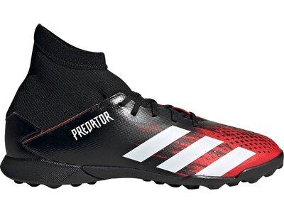 adidas Kinder Predator 20.3 TF Fußballschuh Schwarz