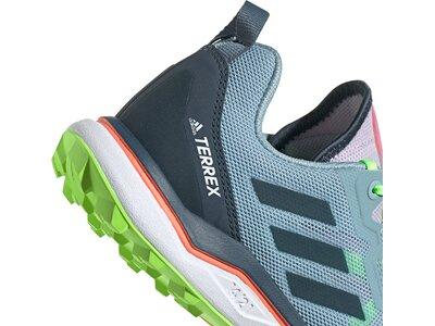 adidas TERREX Damen AGRAVIC TRAILRUNNING SCHUHE Silber