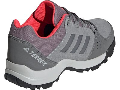 adidas TERREX Kinder HYPERHIKER LOW LEATHER WANDERSCHUHE Grau