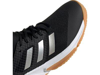 adidas Damen Court Team Bounce Schuh Silber
