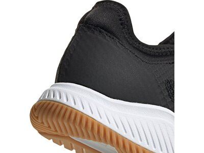 adidas Herren Court Team Bounce Schuh Silber