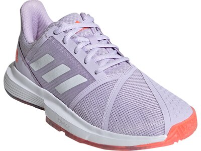 "ADIDAS Damen Tennisschuhe Outdoor ""CourtJam Bounce"" Silber"
