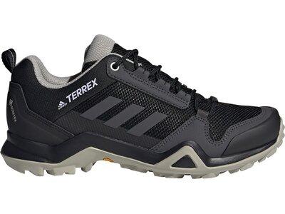 adidas Damen TERREX AX3 GORE-TEX Wanderschuh Schwarz