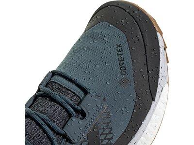adidas Herren TERREX Free Hiker GORE-TEX Wanderschuh Blau