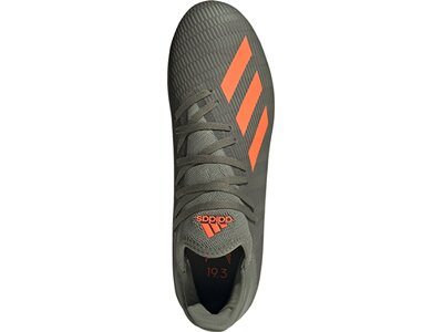 ADIDAS Herren Fußballschuhe X 19.3 FG Grau