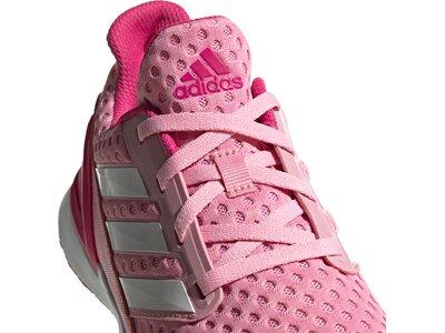 ADIDAS Kinder Laufschuhe RapidaRun Pink