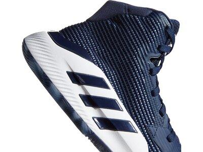 adidas Herren Pro Bounce 2019 Schuh Grau