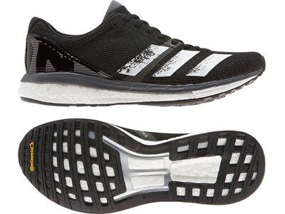 adidas Damen Adizero Boston 8 Schuh Schwarz