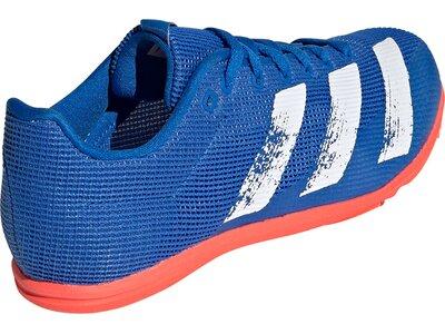 ADIDAS Kinder Leichtathletikschuhe allroundstar Blau