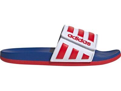 adidas Herren Comfort Adjustable Adilette Rot