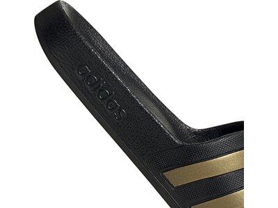 adidas Schwimmen Sport Adiletten Hausschuhe Schwarz