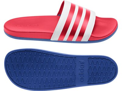 adidas Herren Schwimmen Sport Adiletten Hausschuhe Rot
