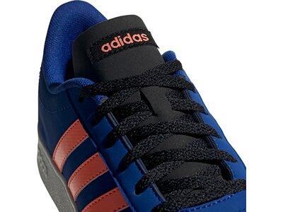 adidas Kinder VL Court 2.0 Schuh Rot