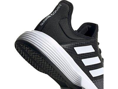 adidas Damen GameCourt Schuh Grau