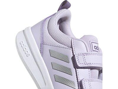 adidas Kinder Tensaurus Schuh Silber