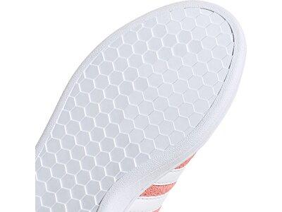 adidas Damen Grand Court Schuh Rot