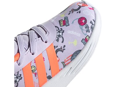 adidas Kinder Lite Racer 2.0 Schuh Grau