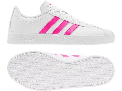 ADIDAS Kinder Sneaker VL Court 2.0 Grau