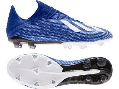 adidas Herren X 19.2 FG Fußballschuh Blau