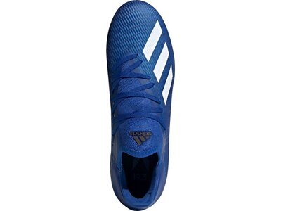 adidas Herren X 19.3 FG Fußballschuh Blau