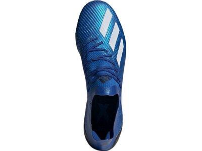adidas Herren X 19.1 SG Fußballschuh Blau