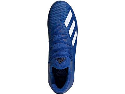 adidas Herren X 19.3 IN Fußballschuh Blau