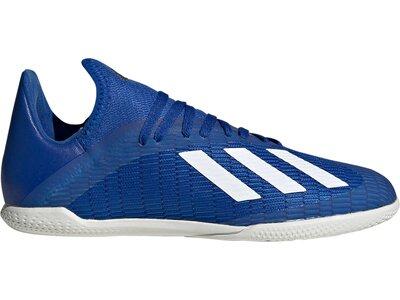 adidas Kinder X 19.3 IN Fußballschuh Blau