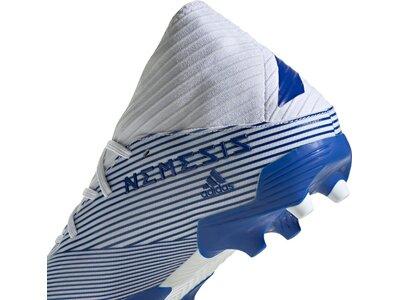 adidas Herren Nemeziz 19.3 FG Fußballschuh Blau