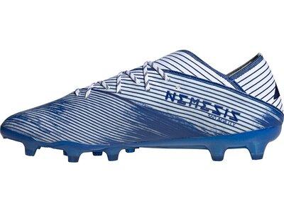 adidas Herren Nemeziz 19.1 AG Fußballschuh Blau
