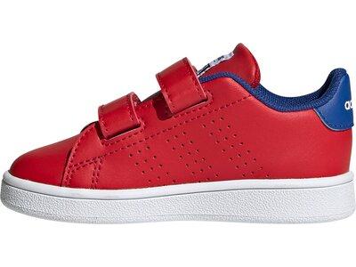 adidas Kinder Advantage Schuh Rot