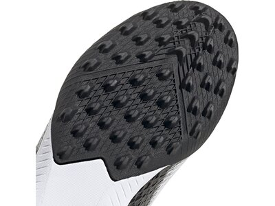 adidas Kinder X Ghosted.3 Laceless TF Fußballschuh Weiß
