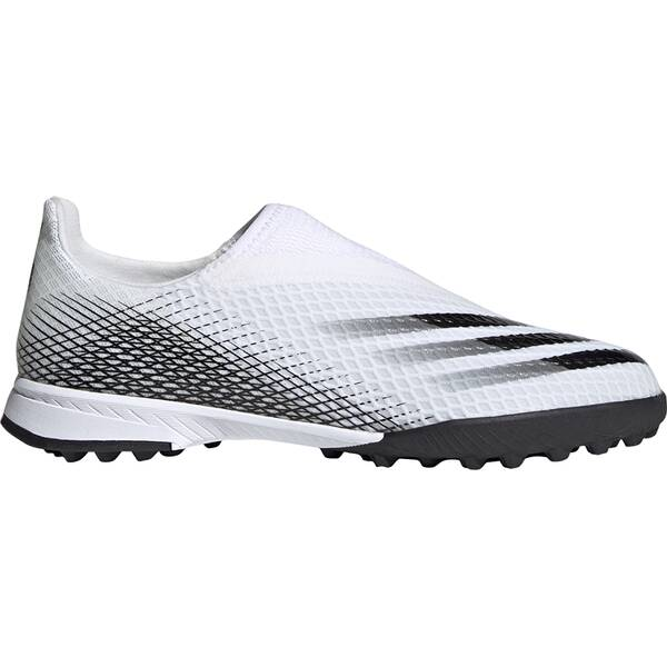 adidas Kinder X Ghosted.3 Laceless TF Fußballschuh