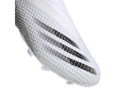 adidas Kinder Fußballschuhe X GHOSTED.3 LL FG Weiß