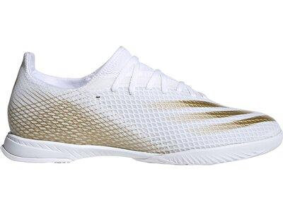 adidas Herren Fußballschuhe X GHOSTED.3 IN Weiß