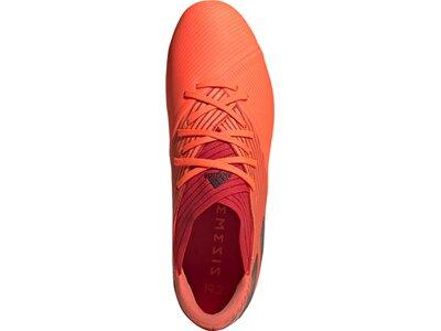 adidas Herren Fußballschuhe NEMEZIZ 19.2 FG Rot