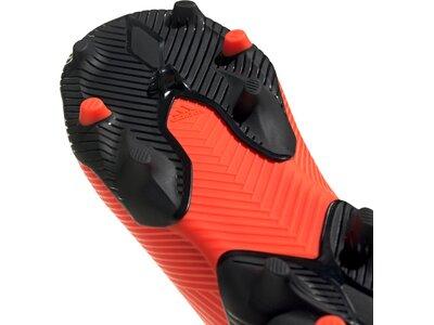 adidas Kinder Fußballschuhe NEMEZIZ 19.3 LL FG Orange
