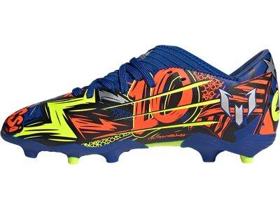 ADIDAS Fußball - Schuhe Kinder - Nocken NEMEZIZ Messi 19.3 FG J Kids Blau