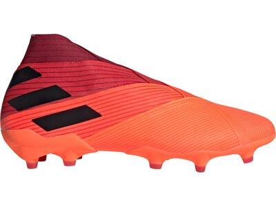 adidas Herren Fußballschuhe NEMEZIZ 19+ FG Rot