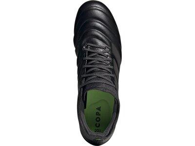 ADIDAS Fußball - Schuhe - Nocken COPA Uniforia 20.1 FG Schwarz