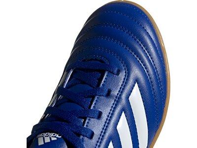 ADIDAS Kinder Fußball-Hallenschuhe COPA 20.4 IN Blau