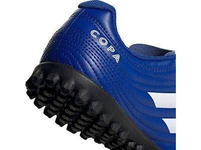 adidas Kinder Copa 20.4 TF Fußballschuh Blau