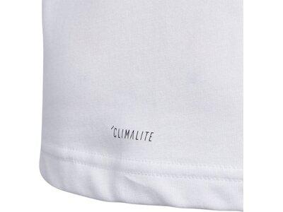 ADIDAS Kinder T-Shirt Cotton Grau