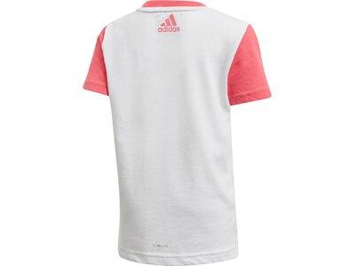 ADIDAS Kinder T-Shirt Weiß