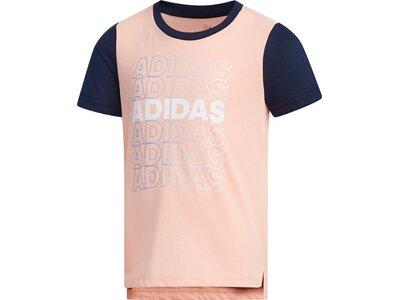 ADIDAS Kinder T-Shirt Pink
