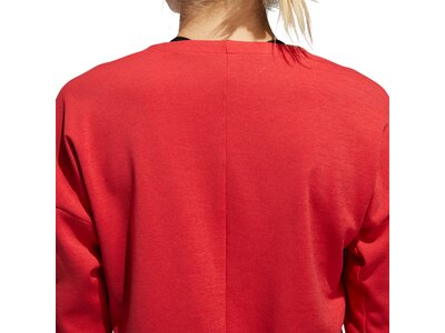 adidas Damen Supernova Run Cru Sweatshirt Rot