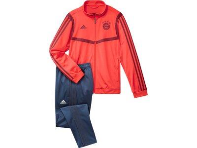 ADIDAS Kinder Sportanzug FC BAYERN Rot