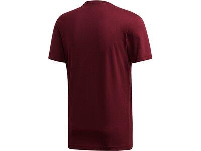 ADIDAS Herren T-Shirt Logo Lila
