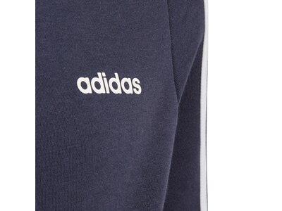 ADIDAS Kinder 3-Streifen Kapuzenjacke Blau